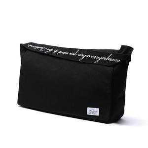 CROSS POINT MAIL BAG (BLACK)