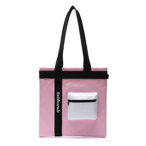 3D POCKET SHOULDER BAG (PINK)