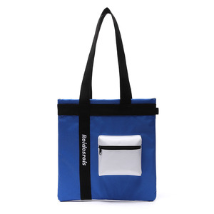3D POCKET SHOULDER BAG (BLUE)