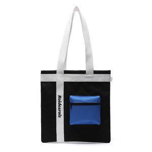 3D POCKET SHOULDER BAG (BLACK)