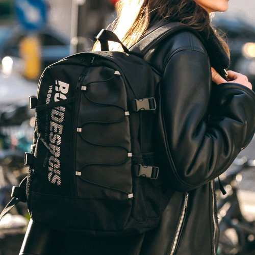 RDR TWO FACE BACKPACK (BLACK)