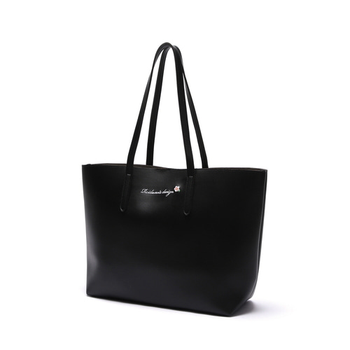 MUGUNGHWA SHOPPER BAG (BLACK)