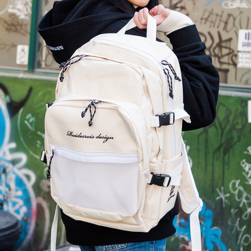OH OOPS BACKPACK (IVORY)