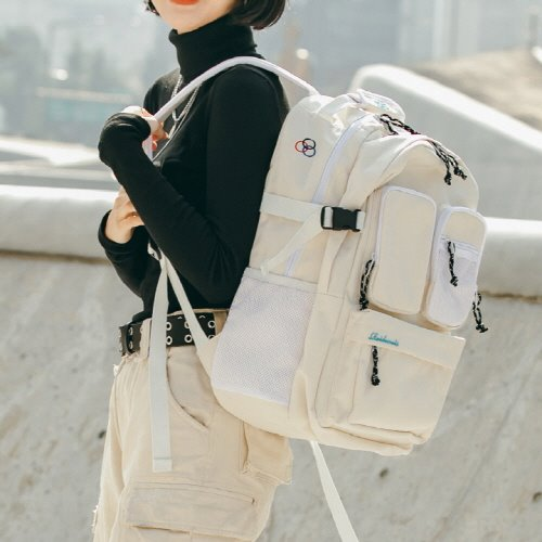 HUSH BACKPACK (IVORY)