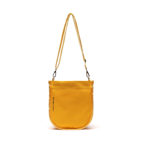 HALF MOON MINI CROSS BAG (MUSTARD)