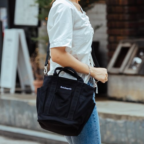 HOHUM TOTE CROSS BAG (BLACK)