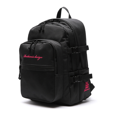 OH OOPS BACKPACK (BLACK/PINK)