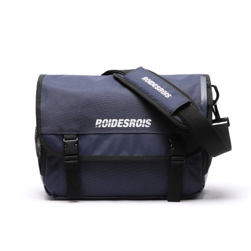 SIGNATURE LOGO MESSENGER BAG (NAVY)
