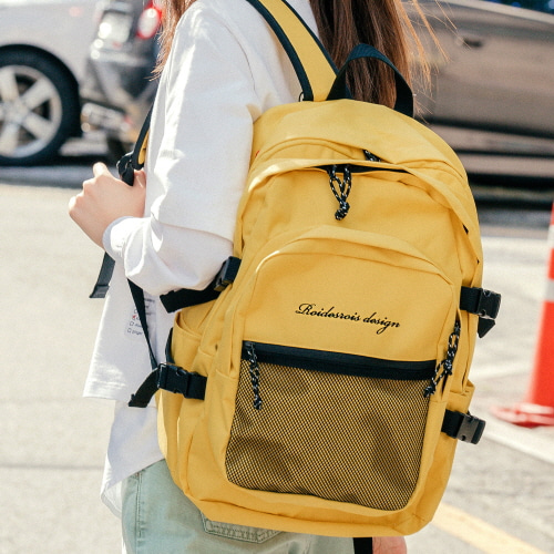 OH OOPS BACKPACK (YELLOW)