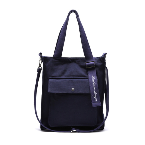 NEW AH CHOO SHOULDER BAG (NAVY)