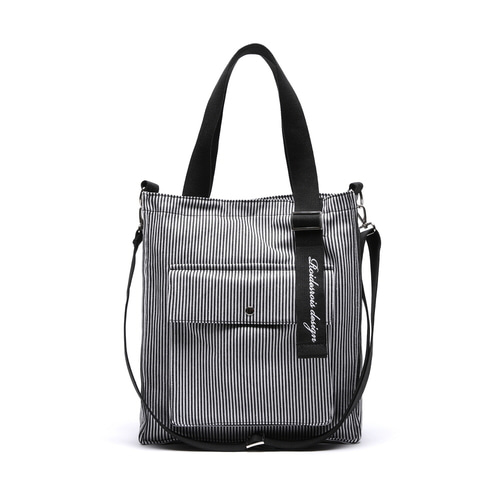 NEW AH CHOO SHOULDER BAG (STRIPE)