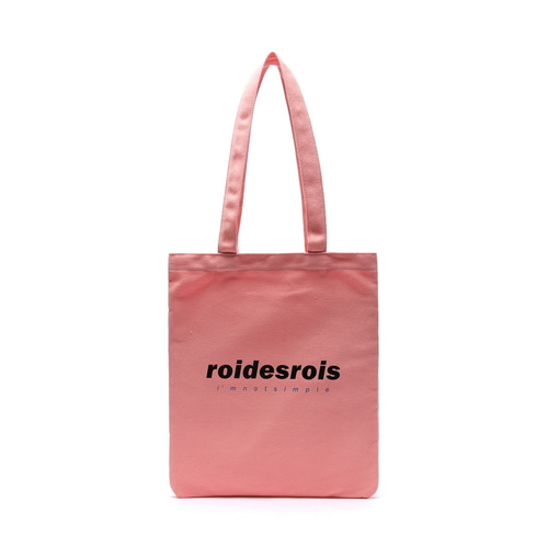 I AM NOT SIMPLE ECO BAG (PINK)