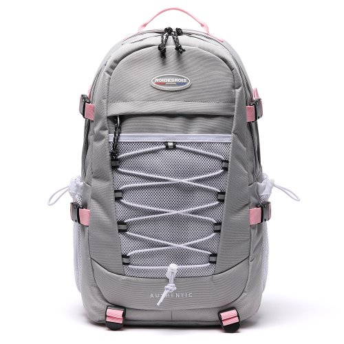 GET OUT BACKPACK (GRAY/PINK)