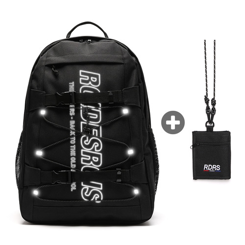 RDR 3D MATRIX BACKPACK (5COLOR) + RDRS STRING WALLET