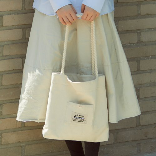 ROPE COTTON ECO BAG (IVORY)