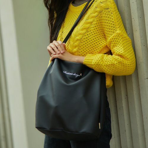 MUGUNGHWA SHOULDER BAG (BLACK)