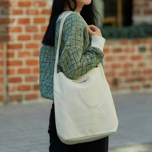 MUGUNGHWA SHOULDER BAG (IVORY)